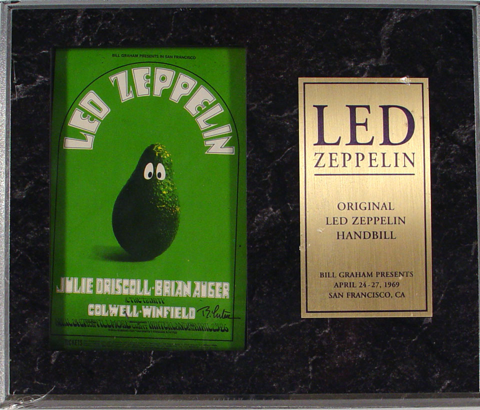 Led Zeppelin Postcard