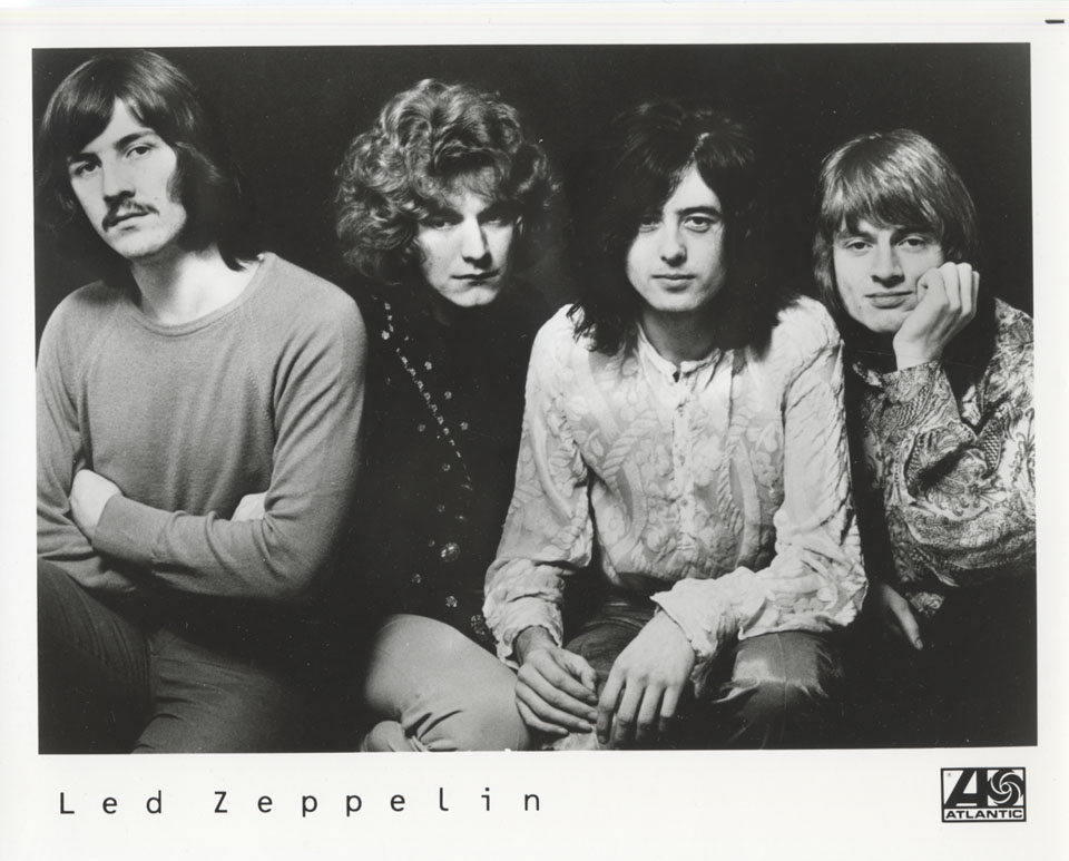 Led Zeppelin Promo Print
