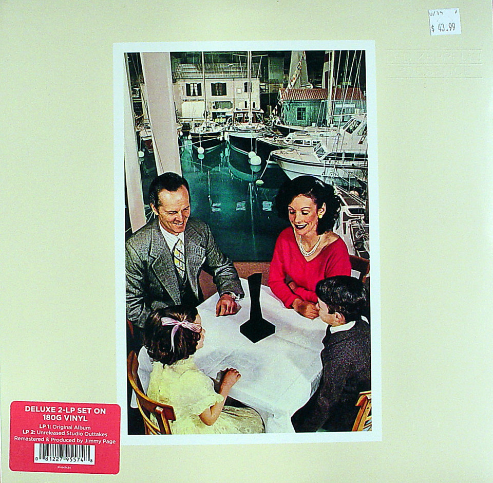 "Led Zeppelin Vinyl 12"" (New)"