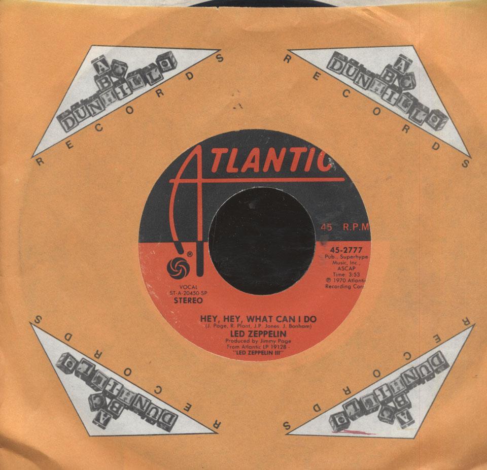 """Led Zeppelin Vinyl 7"""" (Used)"""