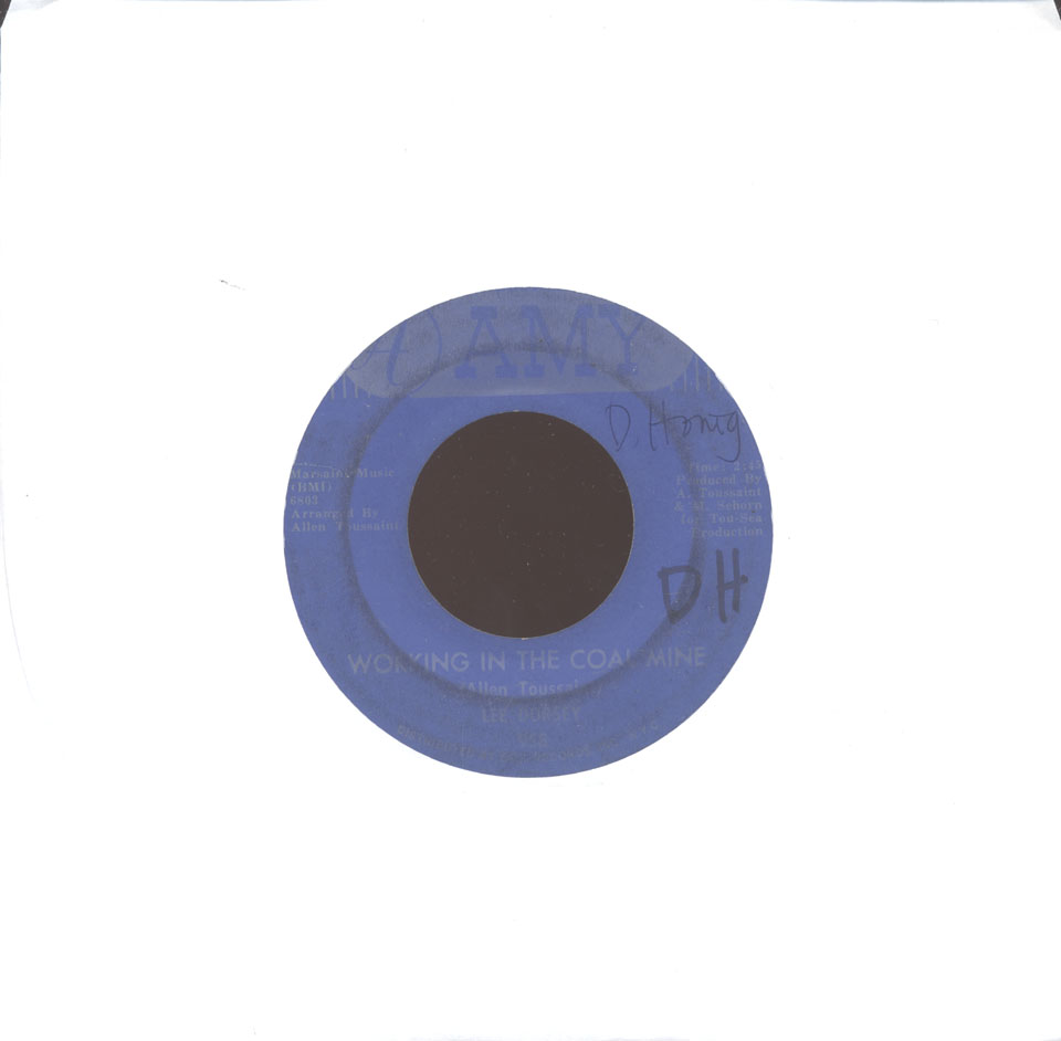 "Lee Dorsey Vinyl 7"" (Used)"