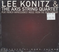 Lee Konitz & The Axis String Quartet CD