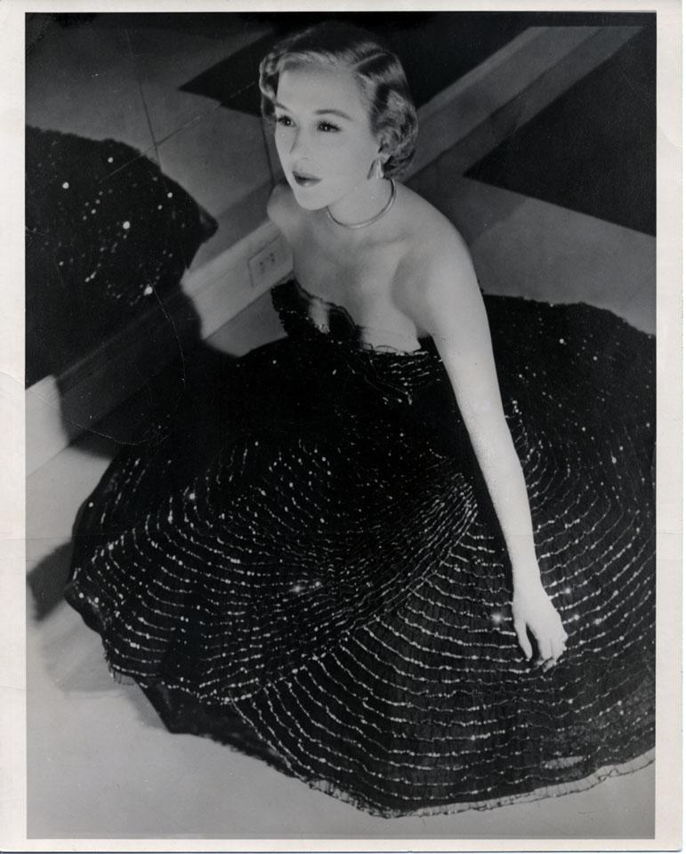Lee Wiley Vintage Print