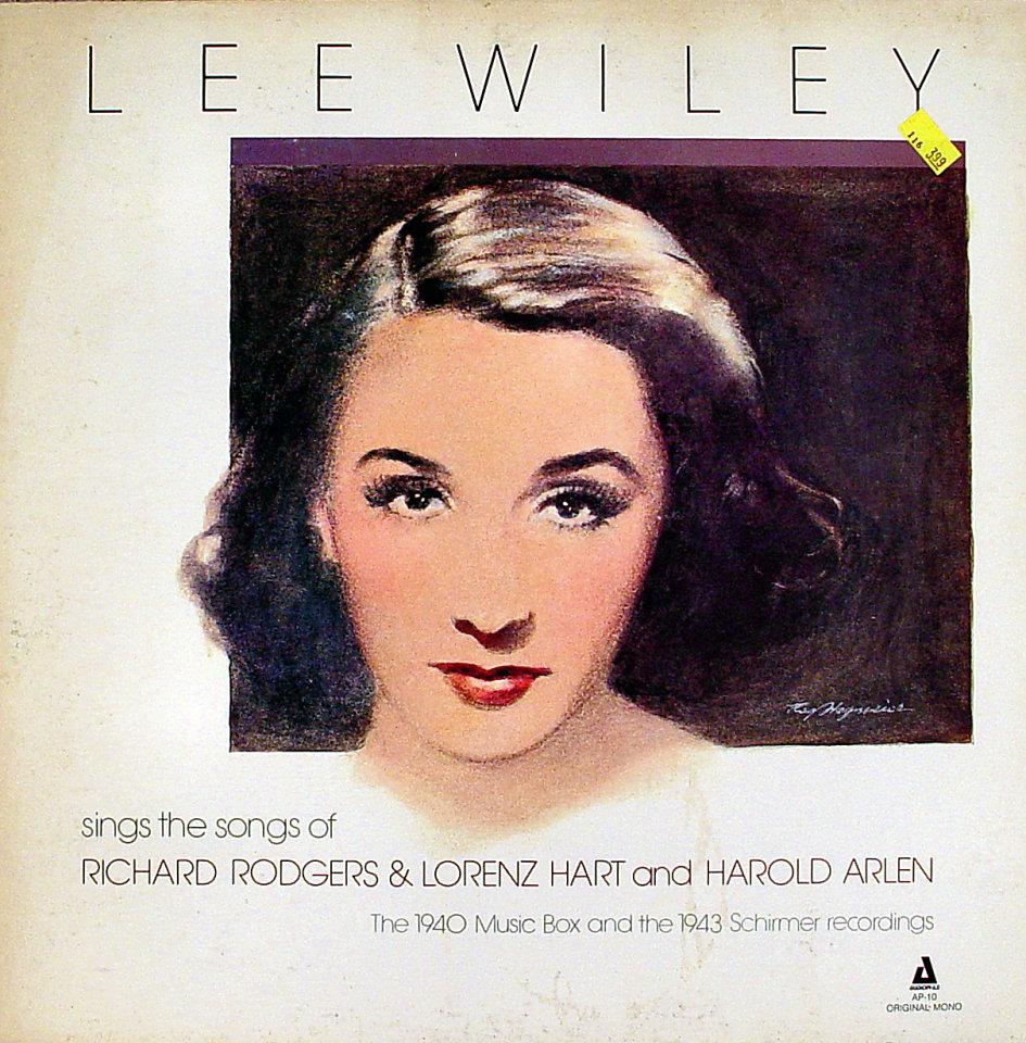 """Lee Wiley Vinyl 12"""" (Used)"""