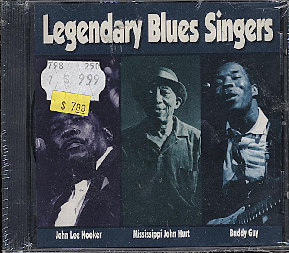 Legendary Blues Singers CD