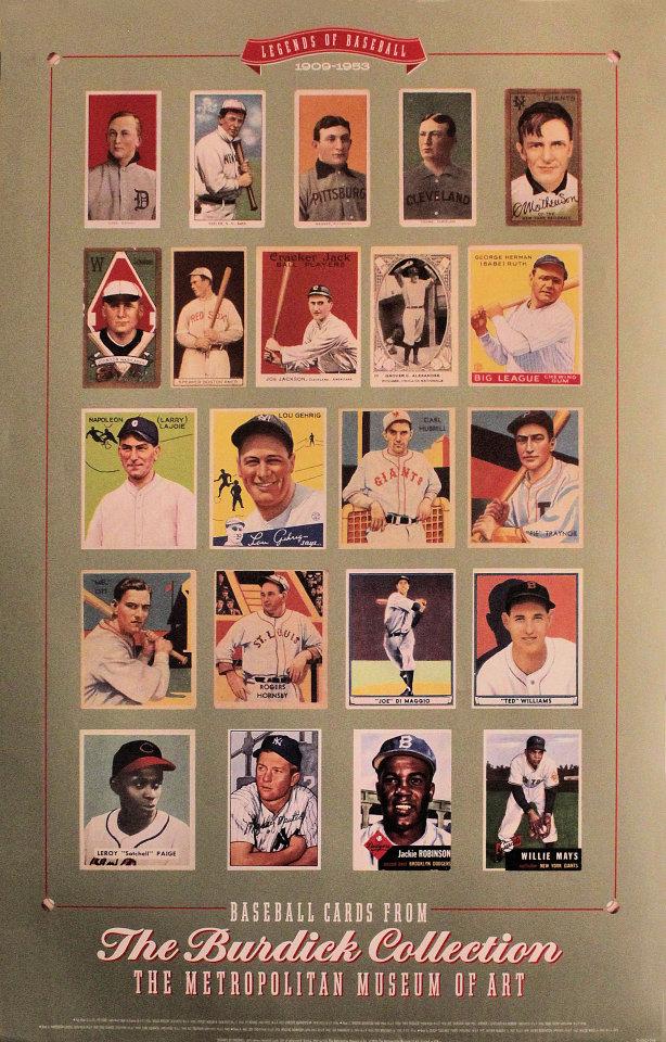 Legends Of Baseball: 1909-1953 Poster