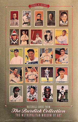 Legends Of Baseball: 1909-1953 Poster