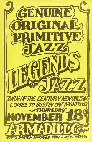 Legends of Jazz Poster
