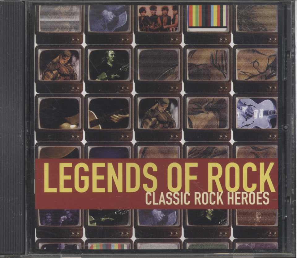 Legends Of Rock Classic Rock Heroes Cd 1999 At Wolfgang S