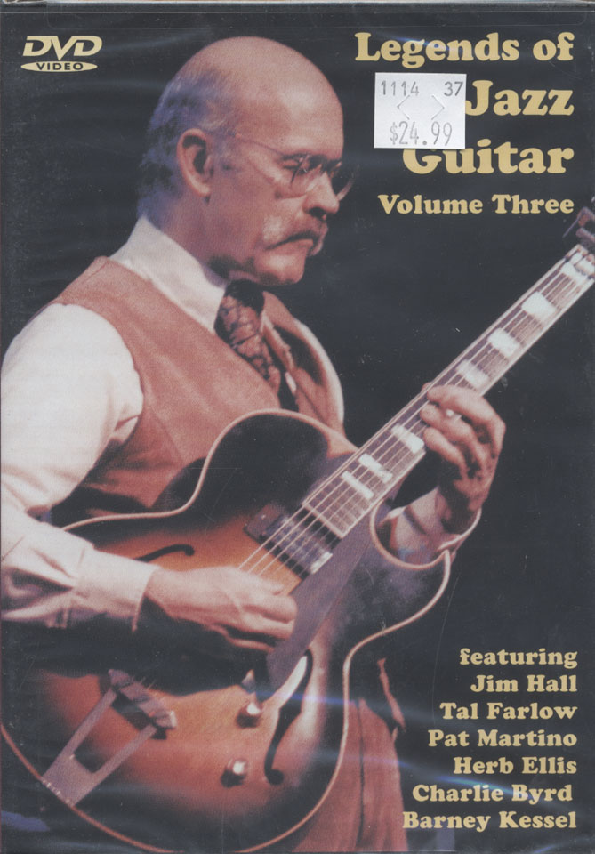 Legends of the Jazz Guitar DVD