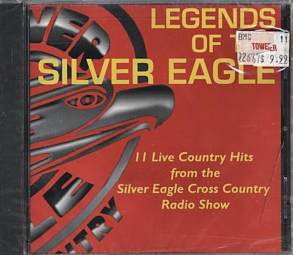 Legends Of The Silver Eagle CD