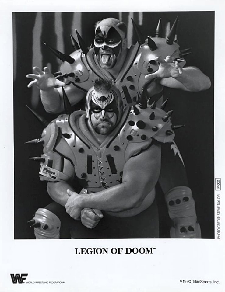Legion Of Doom Promo Print
