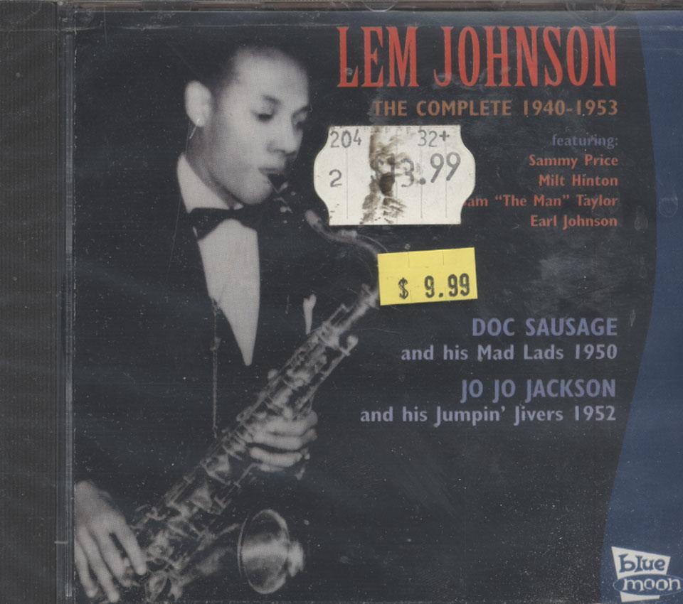 Lem Johnson / Doc Sausage / Jo Jo Jackson CD