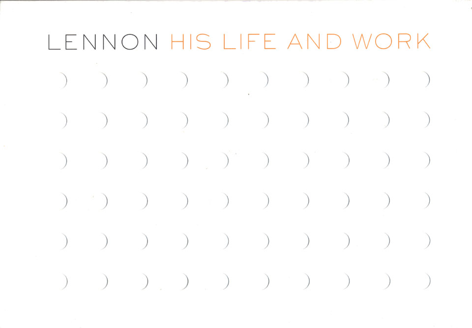 Lennon: His Life and Work