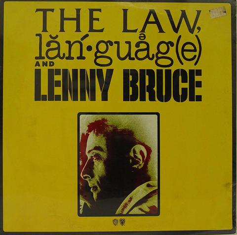 "Lenny Bruce Vinyl 12"" (New)"