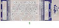 Lenny Kravitz Vintage Ticket