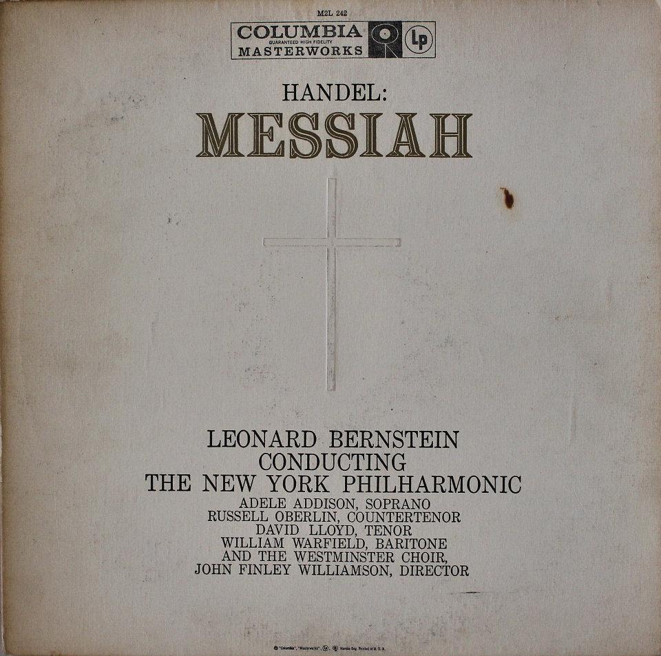 "Leonard Bernstein Conducting The New York Philharmonic Vinyl 12"" (Used)"