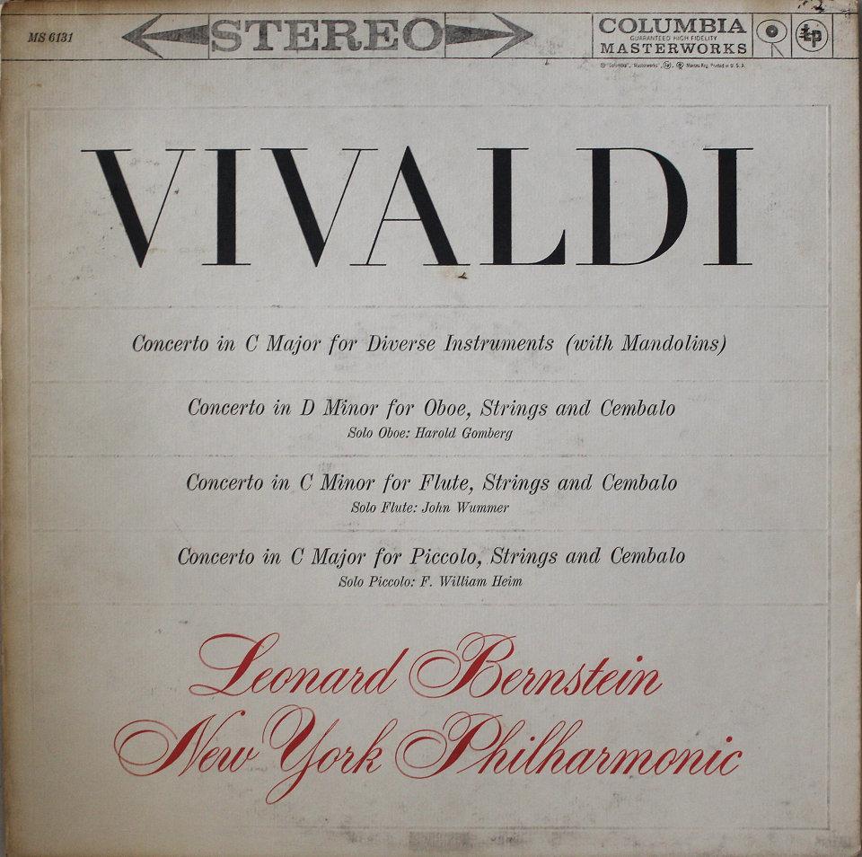"Leonard Bernstein / New York Philharmonic Vinyl 12"" (Used)"