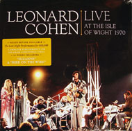 """Leonard Cohen Live At The Isle Of Wight 1970 Vinyl 12"""" (Used)"""