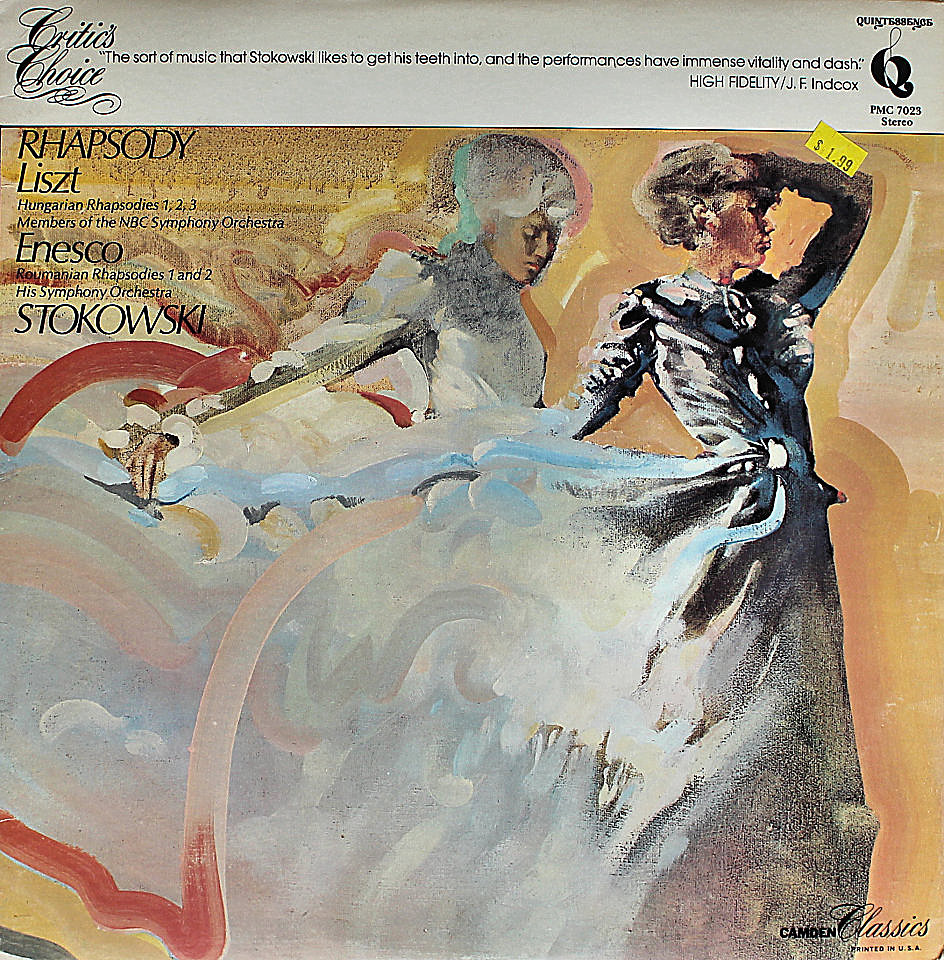 "Leopold Stokowski Vinyl 12"" (Used)"