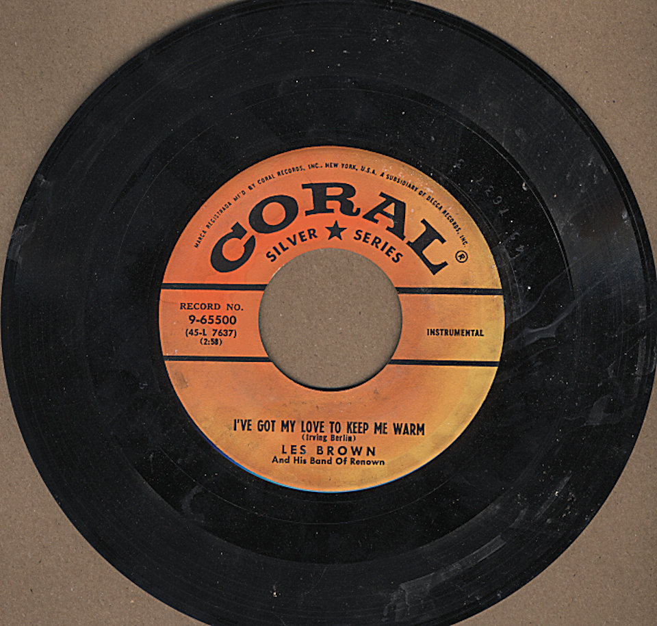 """Les Brown and His Band of Renown Vinyl 7"""" (Used)"""