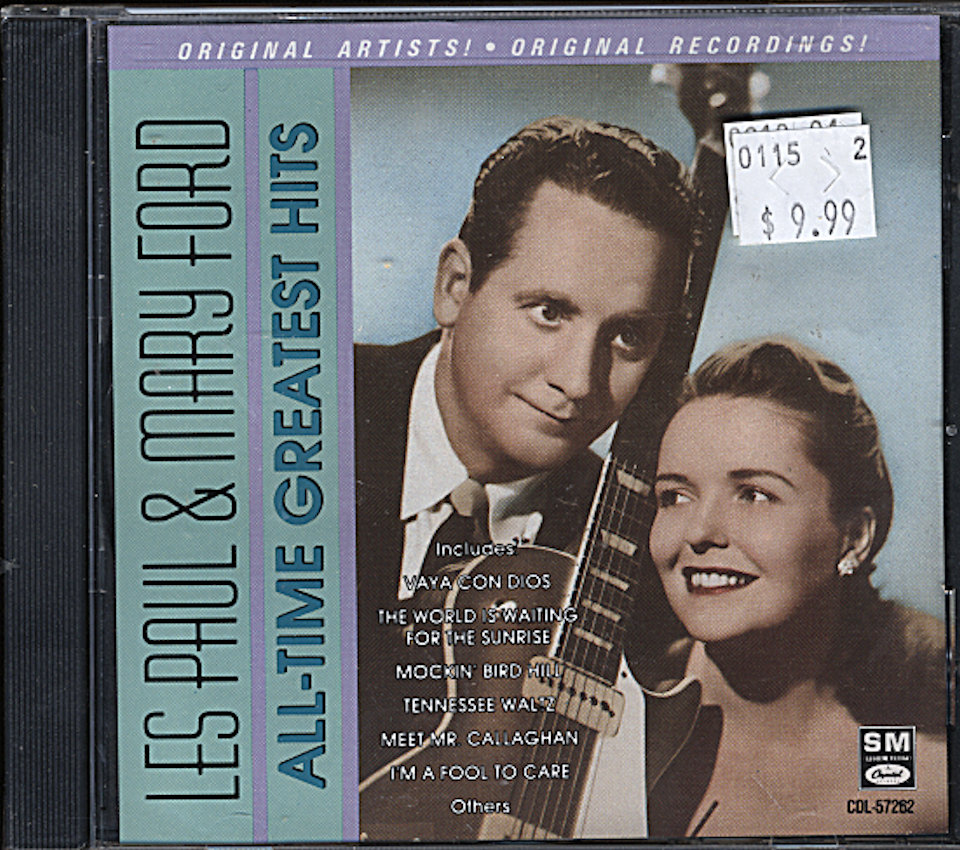 Les Paul & Mary Ford CD