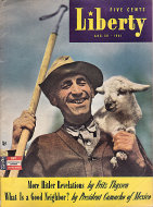 Liberty Magazine August 30, 1941 Magazine