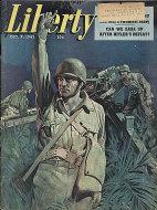 Liberty Magazine October 9, 1943 Magazine