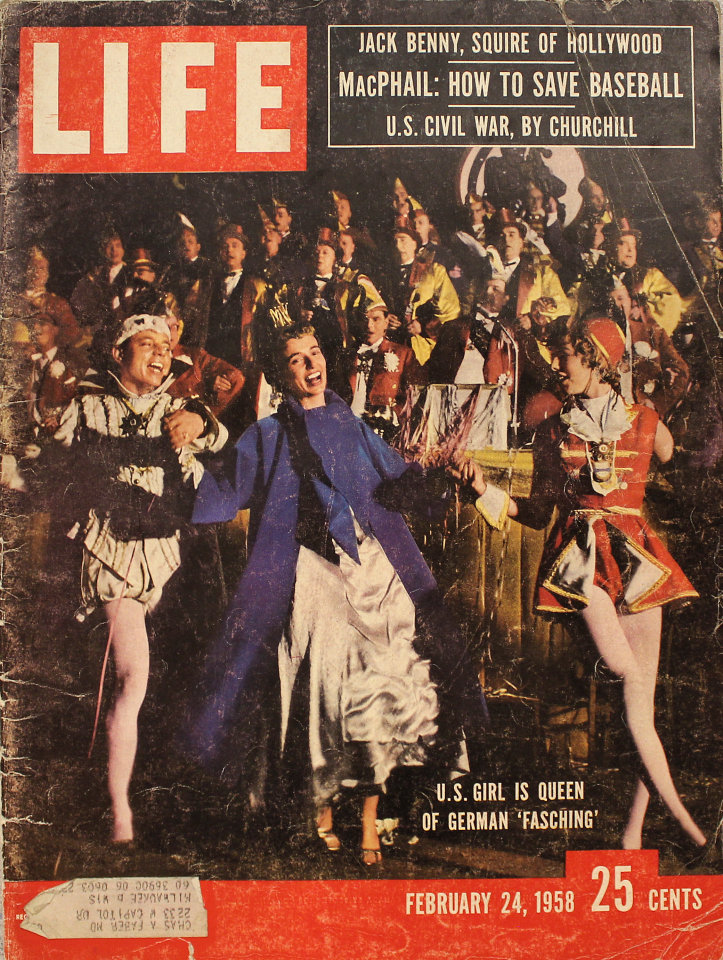 LIFE Feb 24, 1958