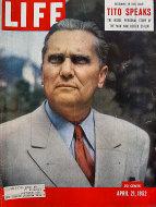 LIFE Magazine April 21, 1952 Magazine