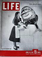 LIFE Magazine April 28, 1947 Magazine