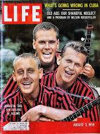 LIFE Magazine August 03, 1959 Magazine