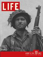 LIFE Magazine August 14, 1944 Magazine