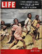 LIFE Magazine August 16, 1954 Magazine