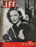 LIFE Magazine August 7, 1944 Magazine