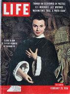 LIFE Magazine February 20, 1956 Magazine