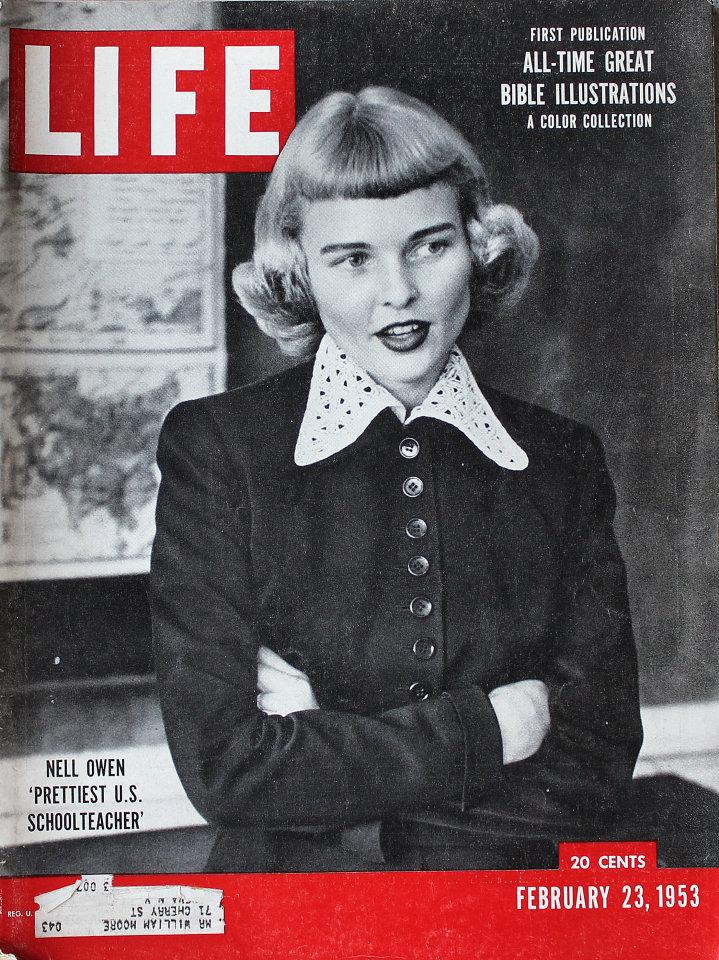 LIFE Magazine February 23, 1953
