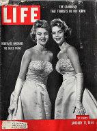 LIFE Magazine January 11, 1954 Magazine