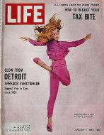 LIFE Magazine January 11, 1963 Magazine