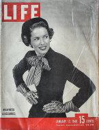 LIFE Magazine January 12, 1948 Magazine