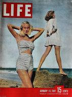 LIFE Magazine January 13, 1947 Magazine