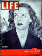LIFE Magazine January 23, 1939 Magazine