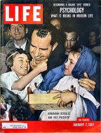 LIFE Magazine January 7, 1957 Magazine