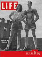 LIFE Magazine July 21, 1947 Magazine