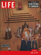 LIFE Magazine June 15, 1953 Magazine