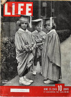 LIFE Magazine June 25, 1945 Magazine