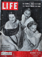 LIFE Magazine November 19, 1951 Magazine