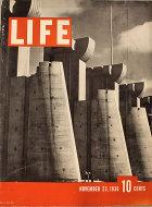 LIFE Magazine November 23, 1936 Magazine