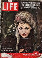 LIFE Magazine November 24, 1958 Magazine