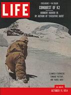 LIFE Magazine October 11, 1954 Magazine